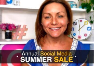 Summer Social Media Sale
